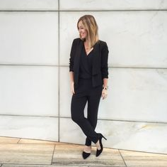 comfort-zone (Love the fabrics, style combination. But it definitely needs a pop of color, too much black)