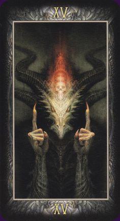 The Devil - Barbieri Tarot