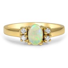 14K Yellow Gold The Sharee Ring from Brilliant Earth
