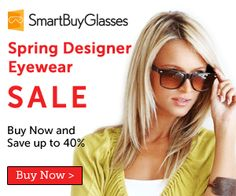 Spring Sale -40%, Top Brands at Smartbuyglasses Optical Limited  #coupon #optical #glasses