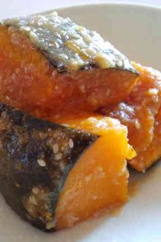 Kabocha with Sesame Sauce