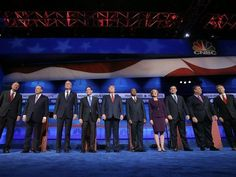 CNBC Debate Executive Worked in the Clinton White House for Al Gore.......Andrew Burton/Getty Images