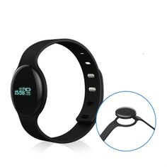 Touch Screen Heart Rate Bluetooth Smart Bracelet Exercise Step Sleep Monitoring Calorie Monitoring