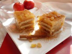 Prajitura cu mere si biscuiti (de post) - Bucataresele Vesele No Cook Desserts, Waffles, Biscuits, French Toast, Pudding, Apple, Vegan, Cooking, Breakfast