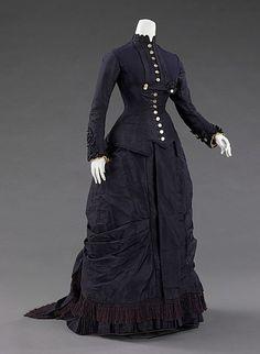 Mourning dress 1877