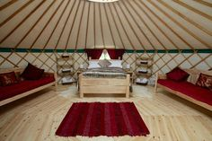 Yurt : 'Cloud House' Traditional Mongolian Ger, Off Grid Home, Movement Studio, Guest House Wood Stove Chimney, Small Rings, Vinyl Cover, Grid, Clouds, Traditional, Studio, Architecture, Houses