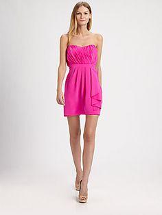 Shoshanna Silk Courtney Dress
