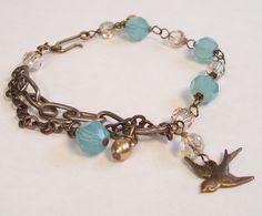 diy dainty jewelry | Cute (and diy-able) charm bracelet #ustrendy ... | -dainty jewelry-
