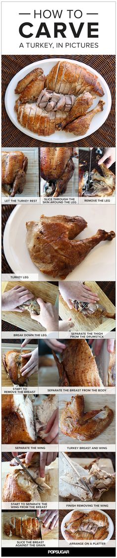 How to Carve a Turke