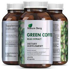 Green Coffee Bean Extract Weight Loss Pills for Men & Women Fat Burn Diet 800 mg
