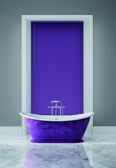25 Beautiful Bathroom Color Scheme Ideas For Small & Master Bathroom - Page 11 of 31 - BathroomRemodel Bathroom Color Schemes, Bathroom Colors, Bathroom Designs, Beautiful Small Bathrooms, Purple Interior, Curtains With Blinds, Mid Century House, Color Of The Year, Pantone Color