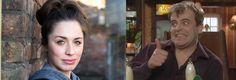 Coronation Street Blog: Julia Goulding admits fancying Coronation Street co-star Coronation Street Episodes, Coronation Street Blog, Simon Gregson, Carla Connor, British Drama Series, Little Nicky, Steve Mcdonald, Norman Bates