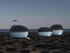 Image detail for -Lens': glass and water objects by Dutch artist Saskia van der Steen ...