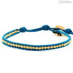 Żółto-niebieska Bransoletka Sue