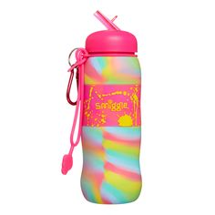 Image for Blended Silicone Roll Bottle from Smiggle Water Bottle Online, Best Water Bottle, Kids Area Rugs, House Ceiling Design, Cute Water Bottles, Shops, Cat Mug, Adult Coloring Pages, Diy Gifts