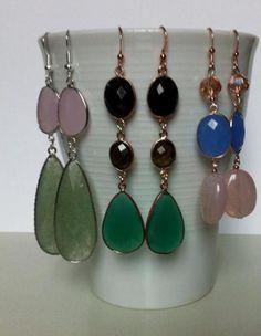Orecchini per tutti i gusti!  www.facebook.com/jewelleryofG