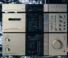 PIONEER revolutionised hi-fi design with this series. Most manufacturers followed. I hated it.