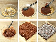Nyttigare müsligodis – Lindas Bakskola Muesli, Chocolate Fondue, Cereal, Deserts, Breakfast, Food, Morning Coffee, Granola, Essen
