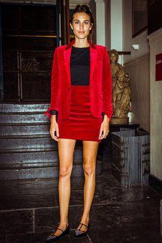 Alexa Chung en Saint Laurent par Hedi Slimane http://www.vogue.fr/mode/look-du-jour/articles/alexa-chung-en-saint-laurent-par-hedi-slimane/23056