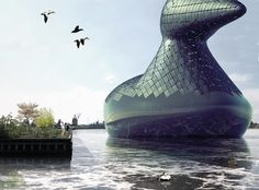 A Giant Floating Duck That Generates Solar Power—Because, Why Not?   http://weathertightroofinginc.com