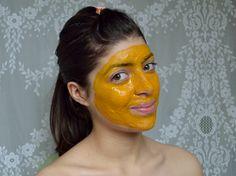 tumeric face mask