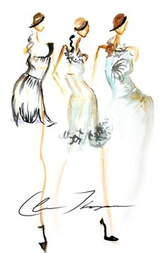 More Illustrations From Fashion Week — Hello|Claire