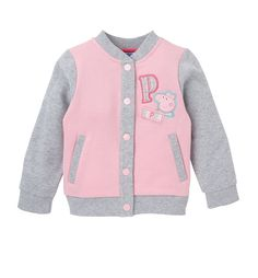 Peppa Pig Baseball Jacket Baby Outfits, Toddler Outfits, Toddler Girls, Pegga Pig, Peppa Pig Outfit, Pig Birthday, Pig Party, Girls Characters, Girl Clothing