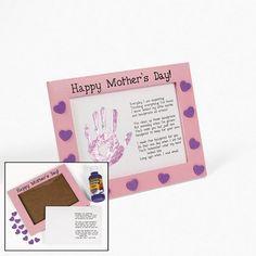 Mother's Day Handprint Keepsake