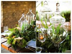 Spring Tablescapes | Earthy Spring Tablescape