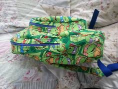 ninja turtle back pack - PURSES, BAGS, WALLETS  - Knitting, sewing, crochet, tutorials, children crafts, jewlery, needlework, swaps, papercrafts, cooking and so much more on Craftster.org