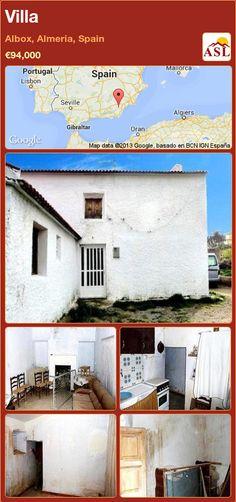 Villa in Albox, Almeria, Spain ►€94,000 #PropertyForSaleInSpain