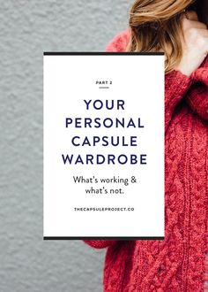 Learn more about how to analyze the clothes you wear to create a capsule wardrobe you'll love!