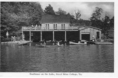 Boathouse, Sweet Briar College, Virginia.