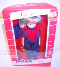 Vintage Lundby/Plasty Cosimo Petra Family Doll $93 listed for
