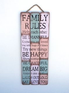 Family Gift Family Art Housewarming Gift Family by honeywoodhome