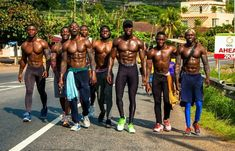 Ghana boys taking a walk. There must really be something in that Somewhere in via by akosua_asa Fine Black Men, Handsome Black Men, Black Boys, Fine Men, Black Man, Ghana, Afro, Black Love Quotes, Black Muscle Men