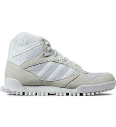 adidas Originals by NIGO White Marathon TR High Top Sneakers