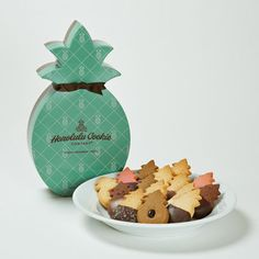 These are awesome! Ultimate Collection Pineapple Shape Box | Honolulu Cookie Company