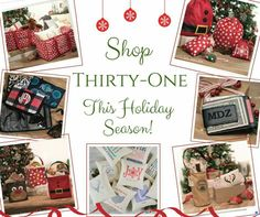 Thirty-One Holiday Gift Guide Available October 1st www.mythirtyone.com/apeterson86