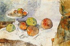 View Nature morte au compotier by Paul Gauguin on artnet. Browse upcoming and past auction lots by Paul Gauguin. Paul Gauguin, Pablo Picasso, Canvas Art Prints, Oil On Canvas, Plate Drawing, Drawing Drawing, Still Life Fruit, Impressionist Artists, Fruit Plate