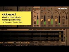 Live: Intro To Warping + Slicing Audio
