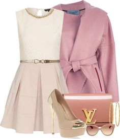 """""""LV Bag"""" by helenrosemay ❤ liked on Polyvore"""