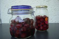 nyárikonyha: Cukor nélkül - cseresznye Cukor, Mason Jars, Mason Jar, Glass Jars, Jars