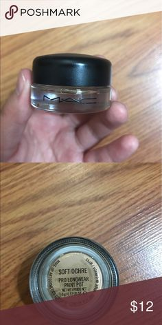 Mac Paint Pot (Soft Ochre) Barely used Mac Paint Pot in the shade Soft Ochre. No trades. MAC Cosmetics Makeup Concealer