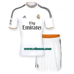 c7a8443ee 2013 2014 Real Madrid home soccer kit. it is white. Real Madrid Club