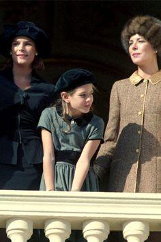 Princess Stephanie, Charlotte, and Princess Caroline (Grace's girls and grandaughter)