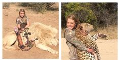 This Is why we have Endangered Species! With Scum like this! Remove Kendall Jones' page of her killing animals for fun!