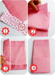 Silverware Wrapped in Napkins Ideas   how+to+make+a+paer+napkin+pouch+paper+napkin+bag+tutorial.jpg