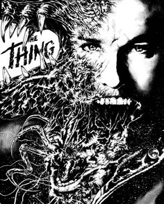 #TheThing alternative movie poster by Andrey Stroganov.