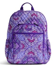 Another great find on  zulily! Lilac Tapestry Campus Tech Backpack by Vera  Bradley   2c62763097c77